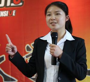 管苏敏 就读高校:中南大学 人生格言:人若软弱就是自己最大的敌人;人若勇敢就是自己最好的朋友!